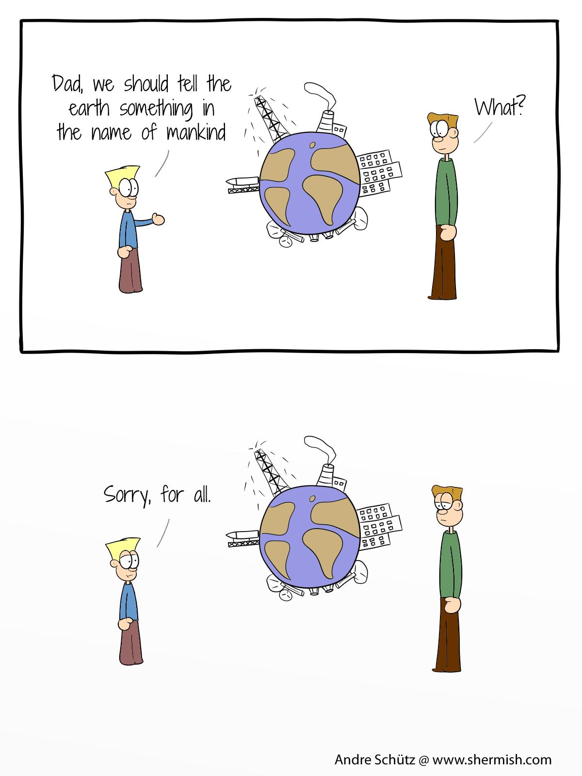Lifetales: Sorry, earth