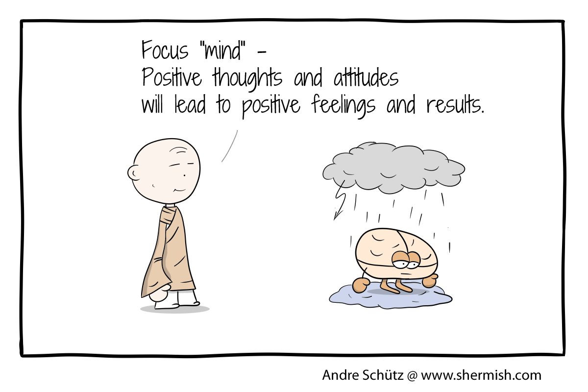 Body & Mind: Positive thoughts will lead to positive results