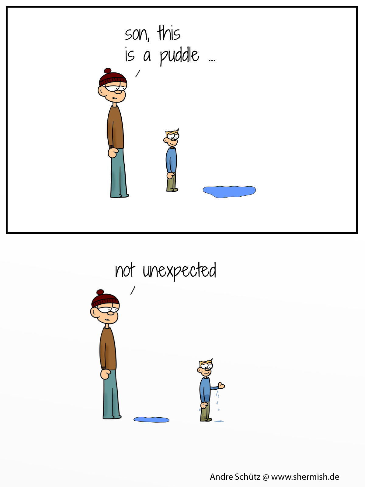 Kids like water