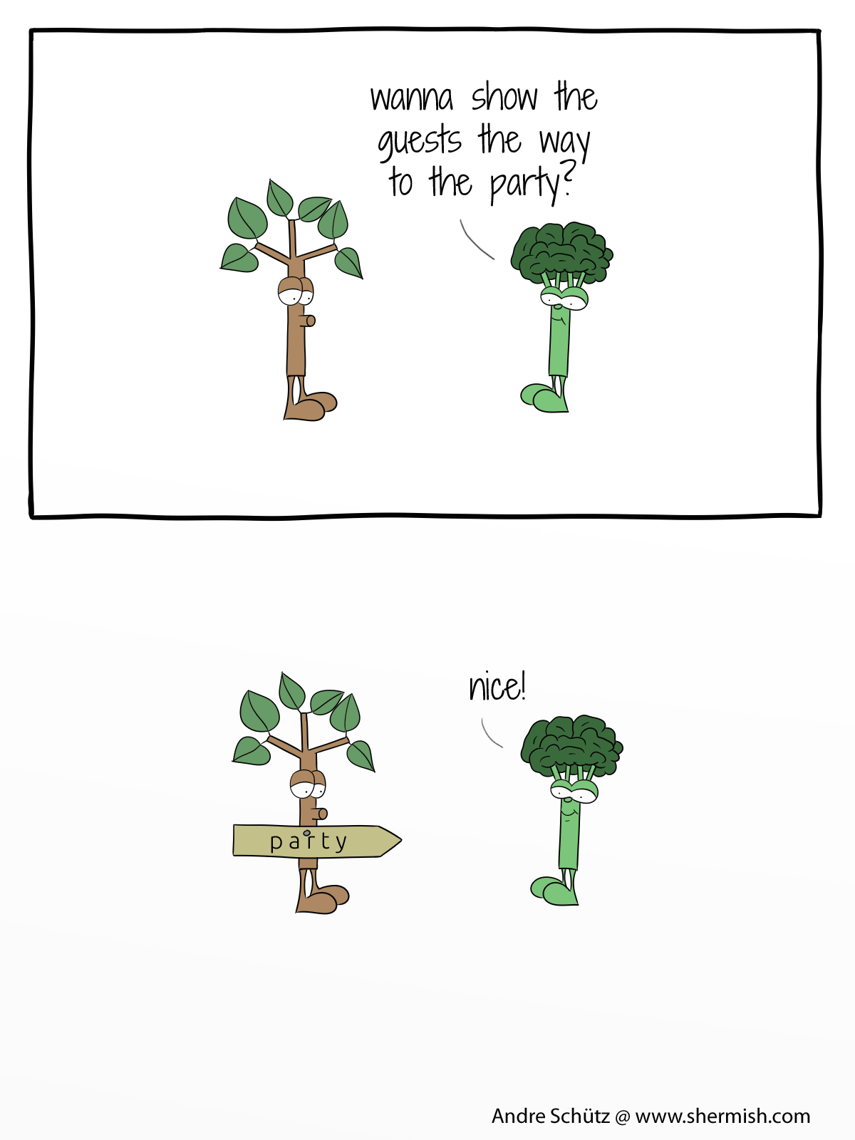 Nature: One is always the loser at the party